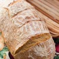 Chłopski chleb toskański - Tuscan Peasant Bread